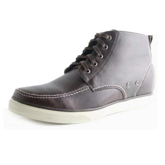 Elevator Shoes Men Height Increasing Shoes Gain Height
