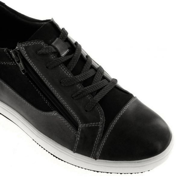 Hidden Heel Shoes Elevator Sneaker For Men