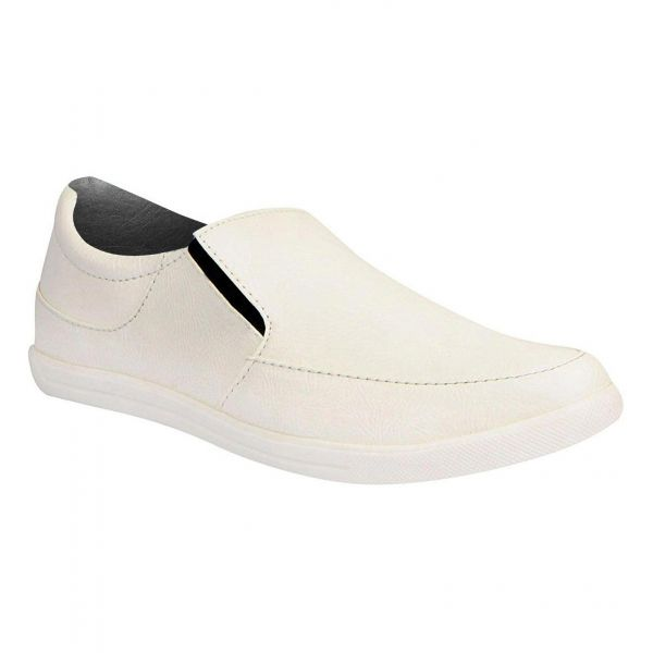 Leather Height Increasing Slip On Loafers